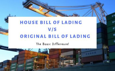 HBL (House Bill of Lading) VS OBL (Original Bill of Lading)