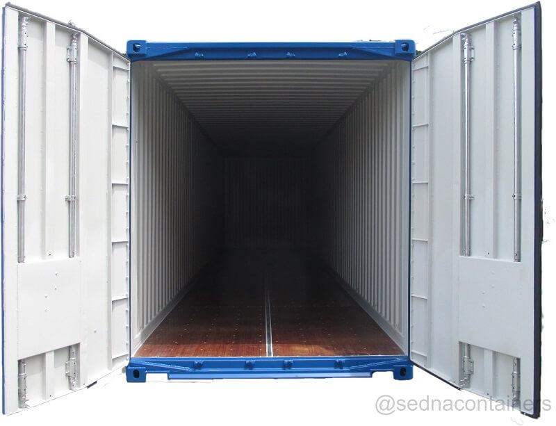 High Cube Pallet Wide Internal View
