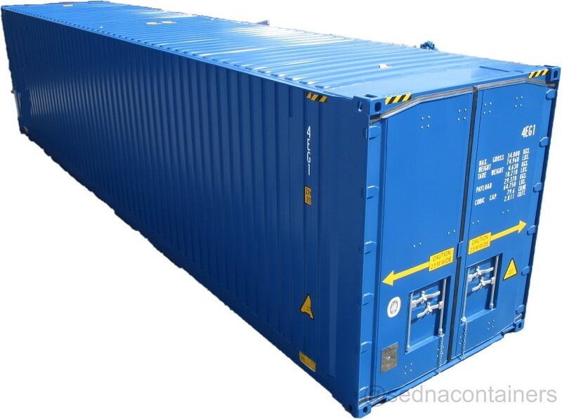 High Cube Pallet Wide container
