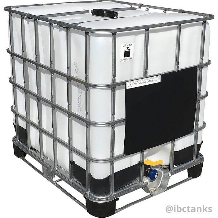 Rigid IBC tanks