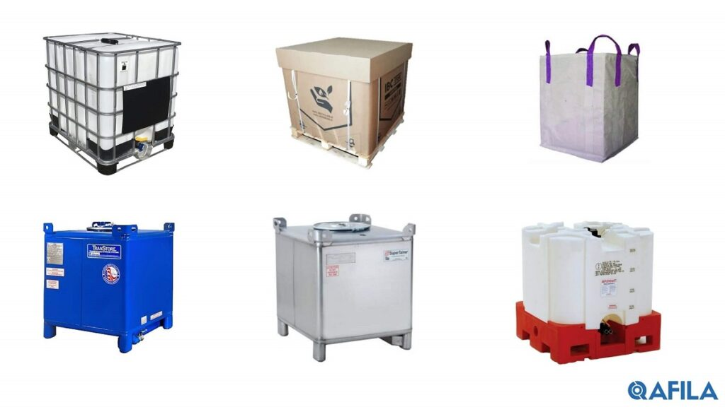 intermediate bulk container for shipping