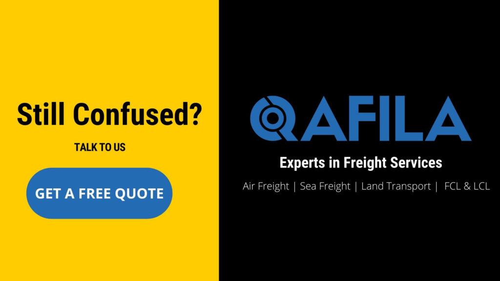qafila container shipping service